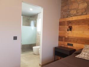 Cama o camas de una habitación en Les Muntades