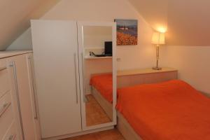 Postelja oz. postelje v sobi nastanitve Studio Mija Tour As
