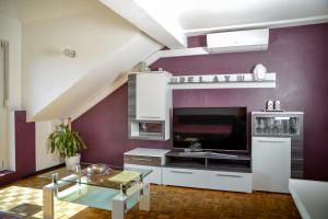 Küche/Küchenzeile in der Unterkunft Jaky´s Penthouse