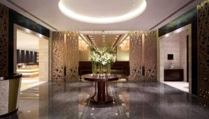 The lobby or reception area at Hyatt Regency Hotel and Serviced Apartments Pune