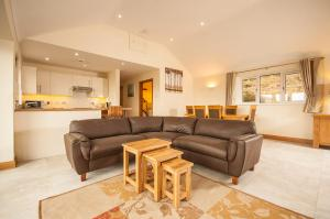 A seating area at Panorama Cottages