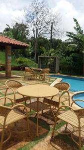 The swimming pool at or near Guaramiranga Apart Monte Verde