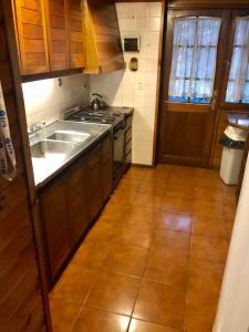 Una cocina o kitchenette en El Maiten 5