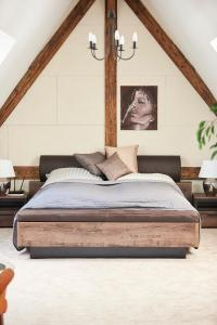 Krevet ili kreveti u jedinici u okviru objekta Prestige Luxury Penthouse
