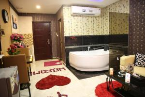 A bathroom at Swat Furnished Apartment