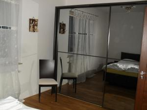 A bed or beds in a room at Apartmány Ekaterinburg