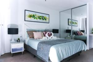 A bed or beds in a room at Surfers's sweet home by Hostrelax GCRDW0R