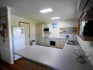 A kitchen or kitchenette at Amity Beach House