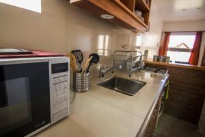 Una cocina o kitchenette en Las Agachonas Apart