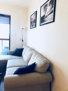 Część wypoczynkowa w obiekcie Apartament Nadmorski Gdańsk