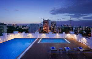 The swimming pool at or close to Citadines Regency Saigon