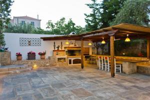 Barbecuefaciliteiten beschikbaar voor gasten van het aparthotel