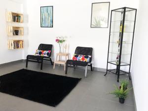 Χώρος καθιστικού στο Ericeira Beach House
