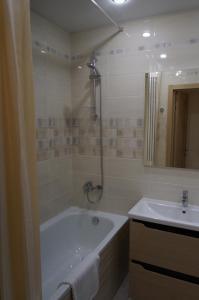 "A bathroom at ЖК ""Академический"""