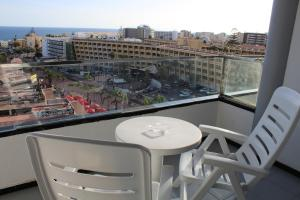 Een balkon of terras bij Hotel Green Field