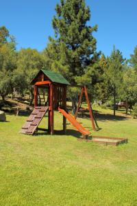 Zona de juegos para niños en Cabañas Kumé Kintú