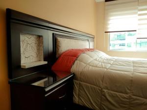 Cama o camas de una habitación en Meraki