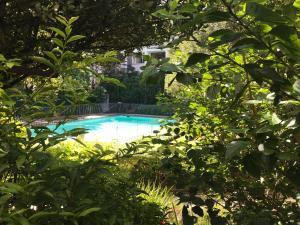Vue sur la piscine de l'établissement St Martini Studio apartment ou sur une piscine à proximité