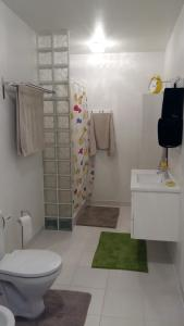 A bathroom at Aparta