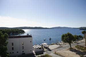 Nespecifikovaný výhled na moře nebo výhled na moře při pohledu z apartmánu