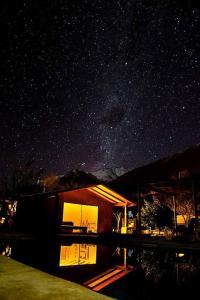Piscina en o cerca de Refugios Pisco Elqui