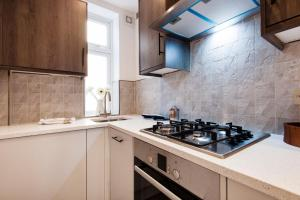 A kitchen or kitchenette at Notting Hill Flat near Portobello Road :)