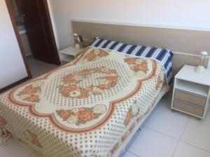 Cama o camas de una habitación en residencial esmeralda