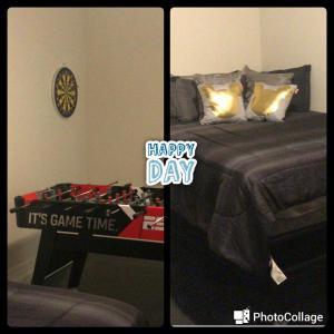 Cama ou camas em um quarto em Orlando Dream House Compass Bay