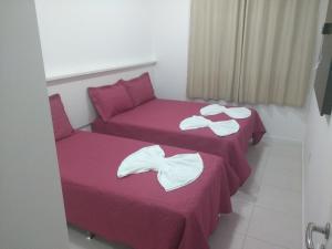 Cama o camas de una habitación en Olga Becker residence