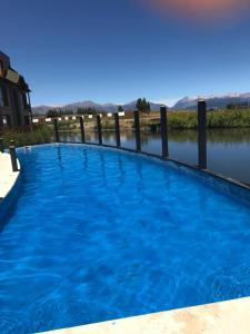 The swimming pool at or close to Departamento Cipres Villa Huapi Bariloche