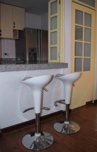 A bathroom at Cayma's Apart