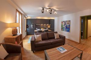 A seating area at Paccard: Residence Le Lutetia