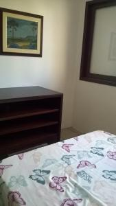 Cama o camas de una habitación en Recanto das Gaivotas
