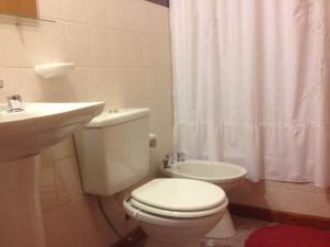 Un baño de Departamento Céntrico Villegas