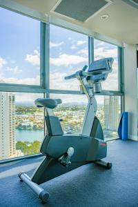 The fitness center and/or fitness facilities at Beachfront paradise retreat with breathtaking ocean view
