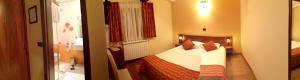 Postelja oz. postelje v sobi nastanitve Domačija Linč
