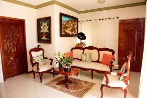 A seating area at Departamentos K&B