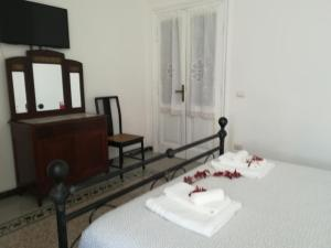 A television and/or entertainment center at Apartment at Pigneto