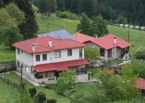 A bird's-eye view of Villa Filokosta