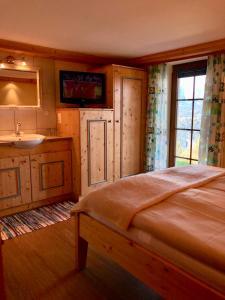 Ein Bett oder Betten in einem Zimmer der Unterkunft Stocker Apartments - Beautiful Rohrmoos