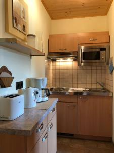 Küche/Küchenzeile in der Unterkunft Stocker Apartments - Beautiful Rohrmoos