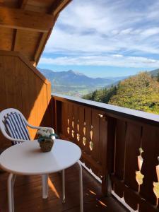 Ein Balkon oder eine Terrasse in der Unterkunft Stocker Apartments - Beautiful Rohrmoos