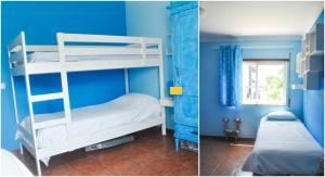 A bunk bed or bunk beds in a room at Beach House in Vilamoura: Terrace+pool