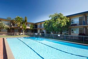The swimming pool at or near Forster Lodge 6, Cnr Wallis & West Street, Forster
