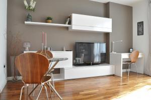 TV/Unterhaltungsangebot in der Unterkunft 1 Bedroom Apartment in the heart of Canary Wharf