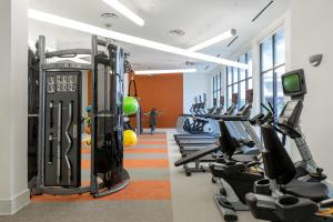 The fitness center and/or fitness facilities at Stay Alfred at Rivera on Broadway