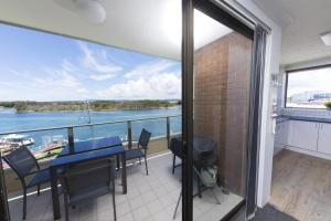A balcony or terrace at WHARF STREET VISTA