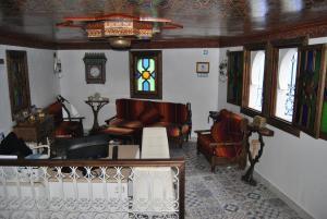 A seating area at Casa La Hiba