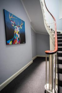 A television and/or entertainment centre at Most central luxury apartment in Chester!