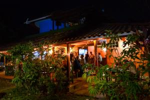 A restaurant or other place to eat at Casa Maya